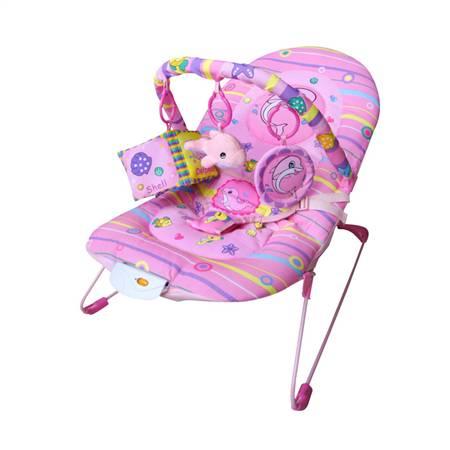 粉海豚婴儿安抚摇椅