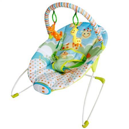 可爱长颈鹿婴儿安抚摇椅