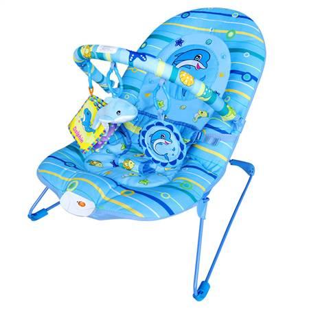 蓝海豚婴儿安抚摇椅